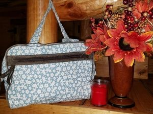 🌼Thirty One Makeup Canvas Bag 💋💕